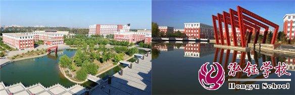 泓钰齐齐哈尔分校坐落于齐齐哈尔工程学院——校园环境